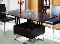 Журнальный стол-трансформер для гостиной4