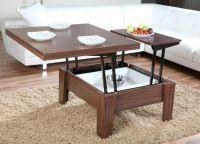 Журнальный стол-трансформер для гостиной5