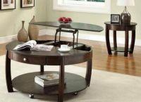 Журнальный стол-трансформер для гостиной8
