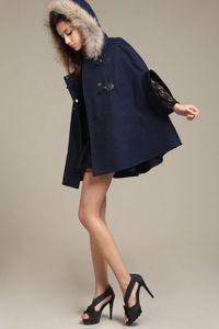 Зимнее женское пальто с капюшоном 4