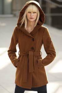 Зимнее женское пальто с капюшоном 6