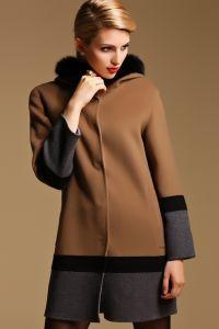 Зимнее женское пальто с капюшоном 7