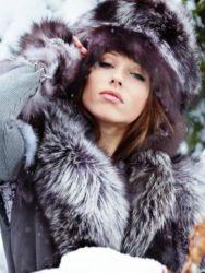 Зимние головные уборы для женщин