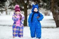 зимние комбинезоны для детей 9