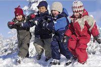 зимние комбинезоны для детей 1