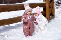 зимние комбинезоны для детей 2