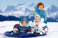 зимние комбинезоны для детей 3