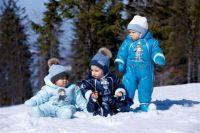 зимние комбинезоны для детей 7