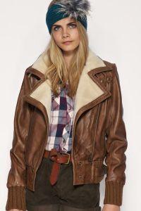 Зимние куртки-пилот – кожаные куртки с мехом