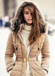 Зимние пальто с натуральным мехом