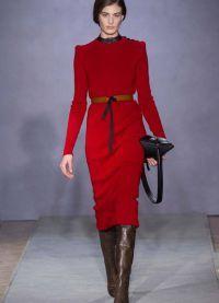 зимние платья 2015 2016 1