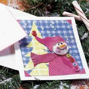 зимние поделки для детского сада 5