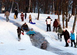 Зимние забавы для детей4