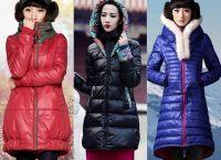 Зимние женские пуховики 2015