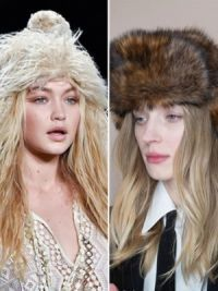Зимние женские шапки 2015 2016 13