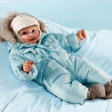 Зимний комбинезон для новорожденного