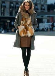 Зимний стиль одежды для женщин