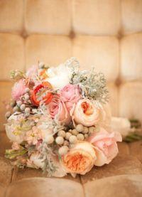 свадебный букет зимой 1