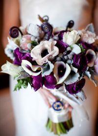 свадебный букет зимой 3