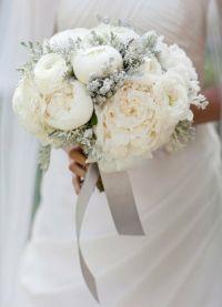 свадебный букет зимой 8