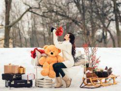 Зимняя фотосессия – идеи для девушек