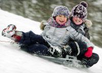 Зимняя фотосессия с ребенком