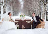 зимняя свадьба оформление9