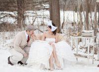 зимняя свадьба оформление1