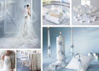 зимняя свадьба оформление2