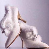 Vjenčanje cipele za zimu 1