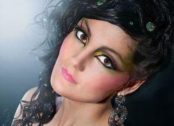 Змеиный макияж