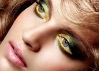 Змеиный макияж 3