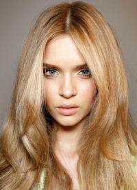 цвят на косата руса златен 2