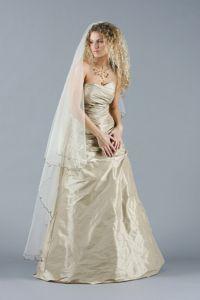 Золотое свадебное платье 9