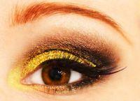 Золотой макияж9