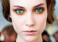 Золотой макияж12