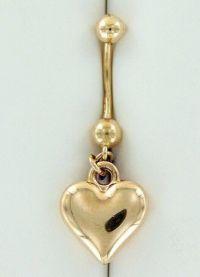 Piercing buric ornamente de aur 4