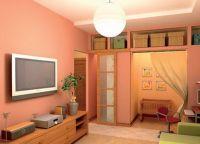 Варианты зонирования однокомнатной квартиры 9