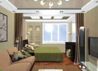 Варианты зонирования однокомнатной квартиры 3