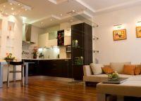 Варианты зонирования однокомнатной квартиры 6