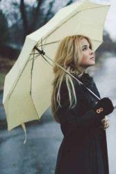 Зонт как часть образа