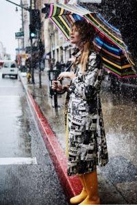 Зонт как часть образа 1