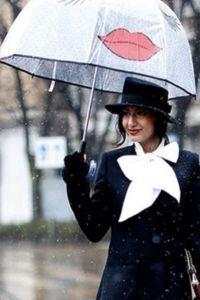 Зонт как часть образа 8