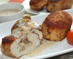 Рецепт zrazy месо со печурки