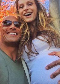 Дуэйн и Лорен очень ждали рождения дочери