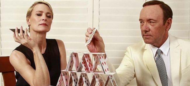 Звезда «Карточного домика» Робин Райт уравняла гонорар с коллегой Кевином Спейси