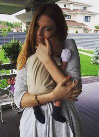 Natalie Podolsky i sin