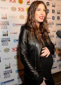 Кети Топурия беременная