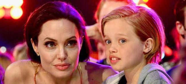 Анджелина Джоли и ее дочь Шайло-Нувель