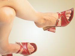 Звездочки на ногах